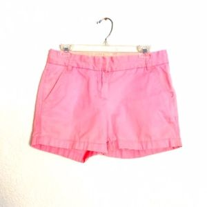 J. Crew | Pink Chino Broken-In Shorts Size 2